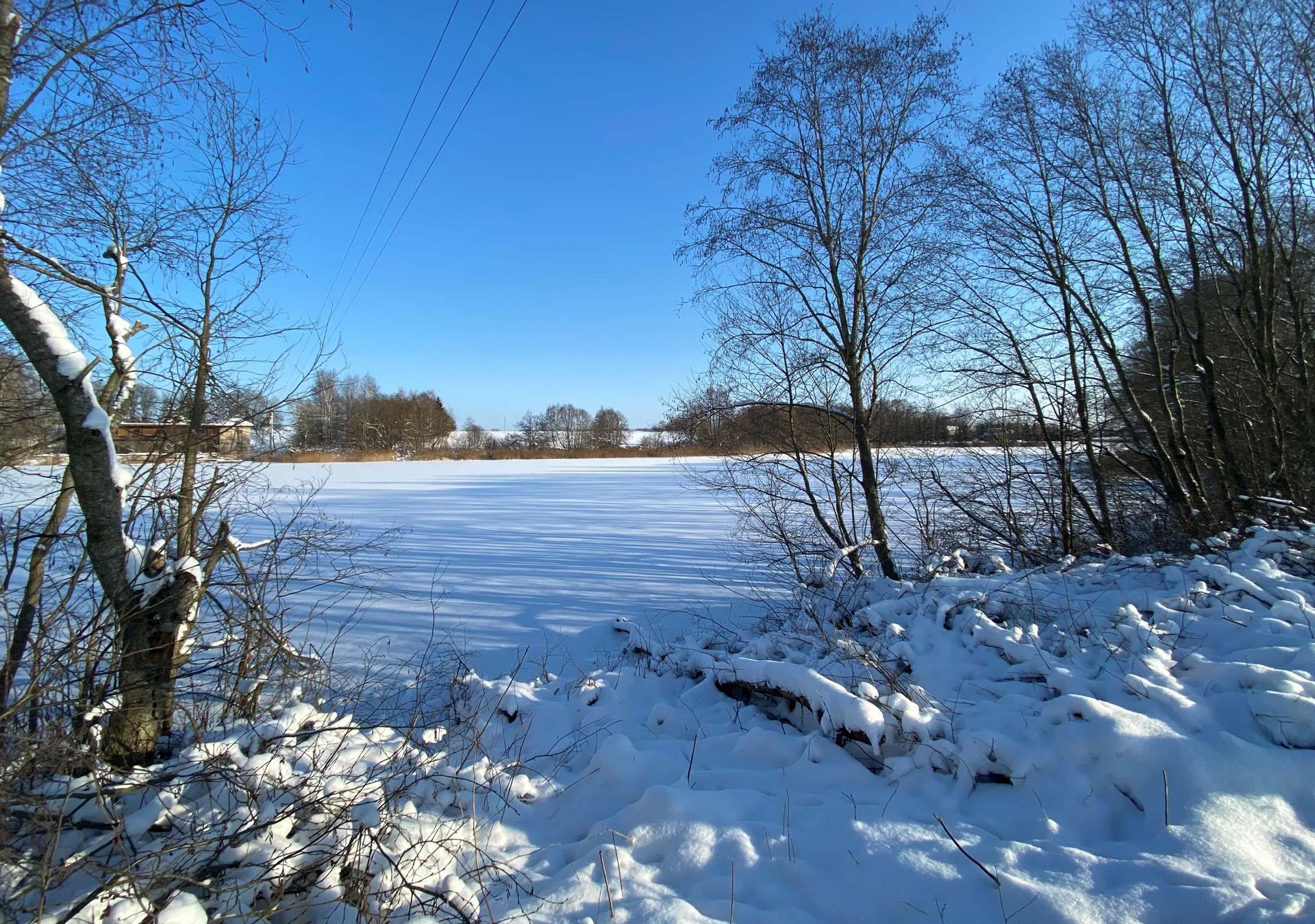 Sklypu masyvas ziema